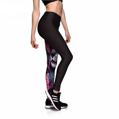 Eventide Lion Athletic Leggings-Leggy Me