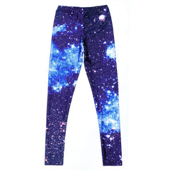 Galaxy Blue Leggings-Leggy Me