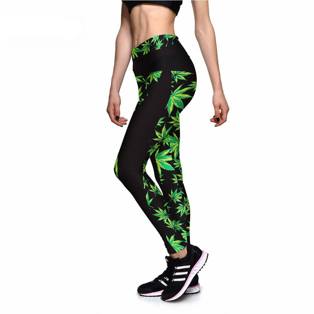 Mary Jane Athletic Leggings-Leggy Me