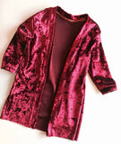 Velvet Midi Cardi (MORE COLORS!)