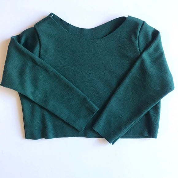 RTS dark teal crop