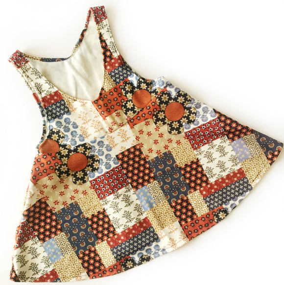 Rts size 2/3 Patchwork Jumper