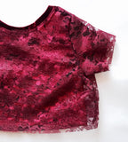 Lace Crop (MORE COLORS!)