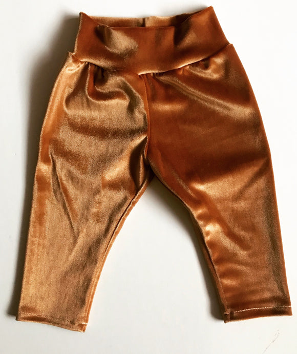 RTS Velvet COPPER cigarette pants