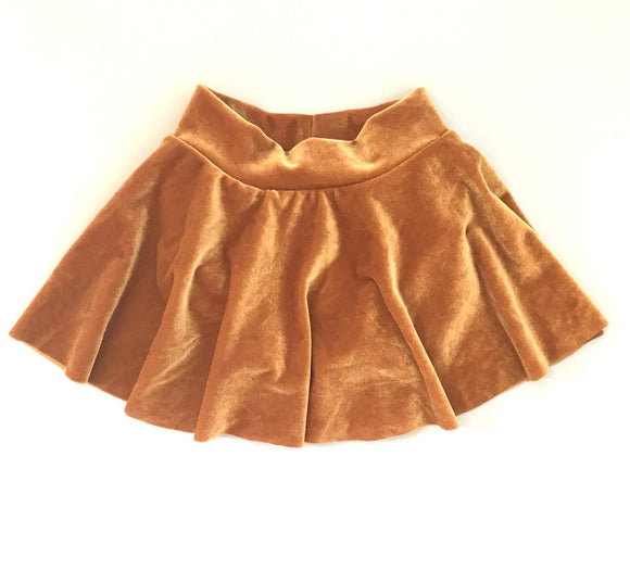 Velvet Skater Skirt (MORE COLORS!)