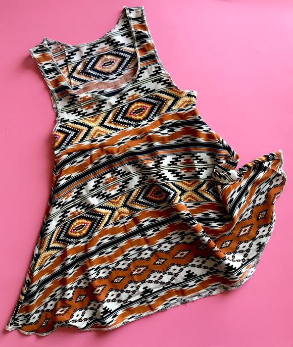 Tribal Jumper Dress