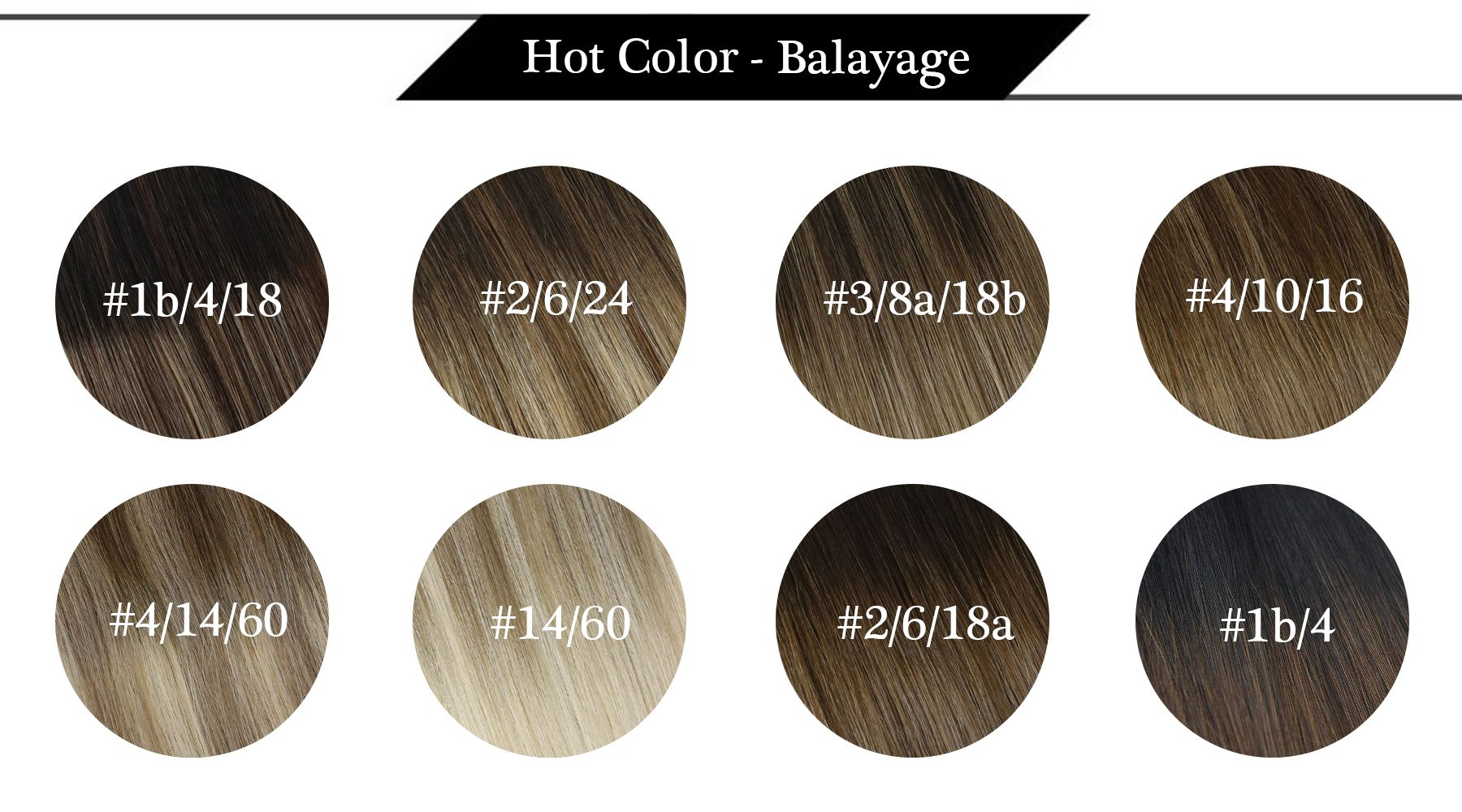 Tape in Medium Brown Balayage Ombre Blonde Human Hair Extensions