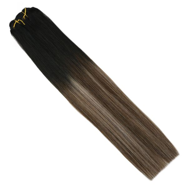 clip in extensions human hair