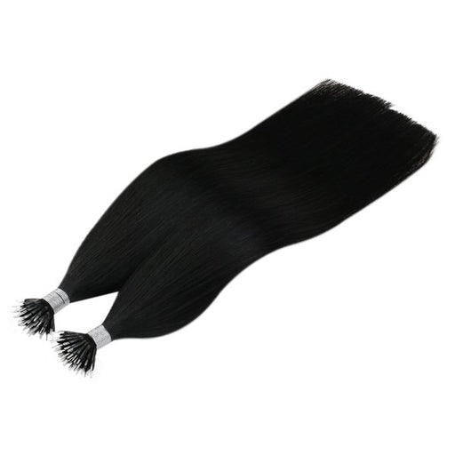 nanoring hair extensions black