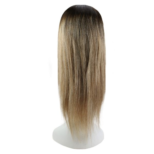 【15% OFF】U Part Human Hair Wigs With Clips Balayage Brown #2/6/18