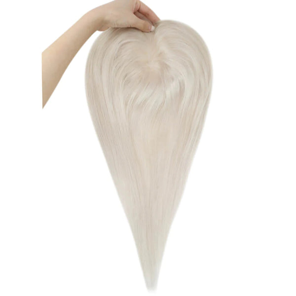 Clip in Human Hair Extensions Balayage Brown with Blonde #3/8/26