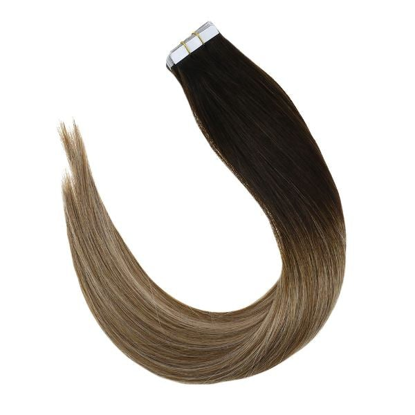 tape in balayage hair extensions