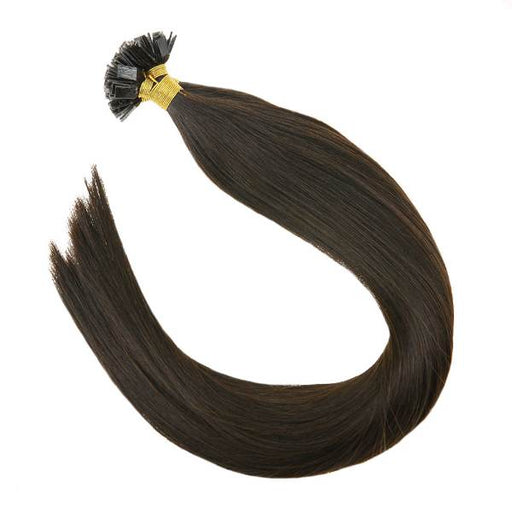 pre bonded flat tip hair extensions