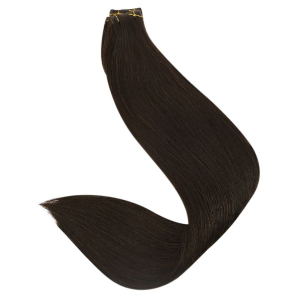 skin weft tape in human hair extensions