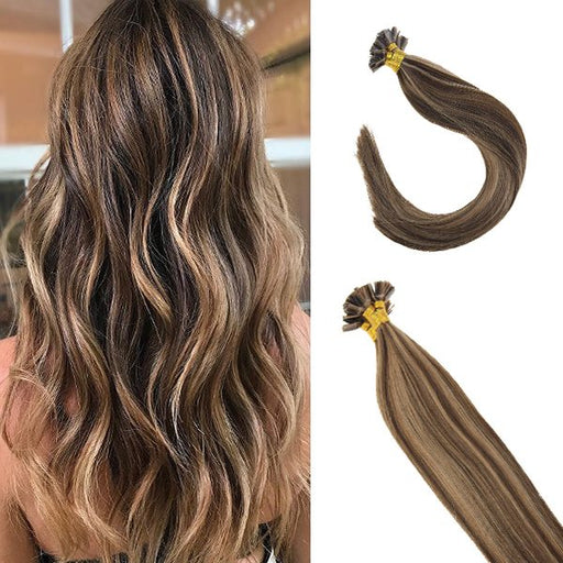 flat tip fusion human hair extentions