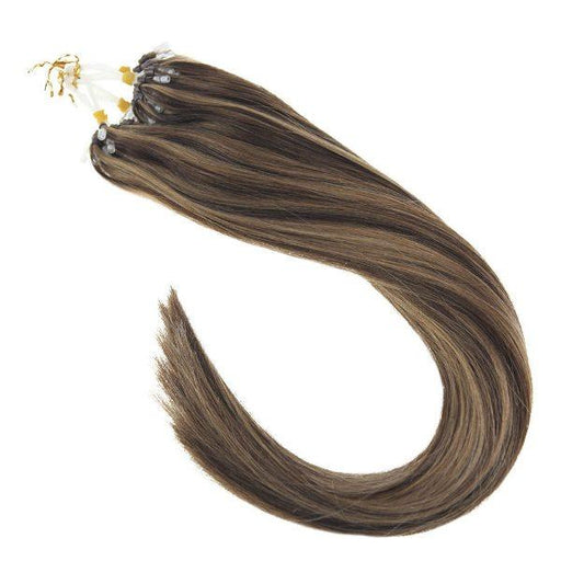 100% human hair extensions micro ring