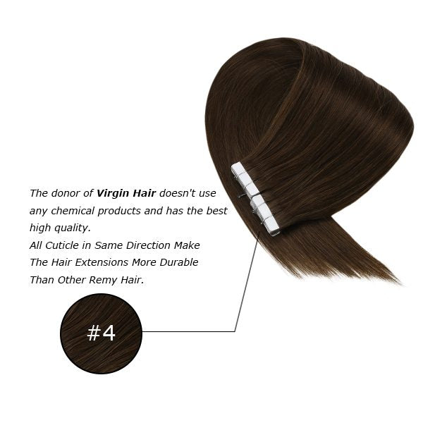 tape in virgin human hair