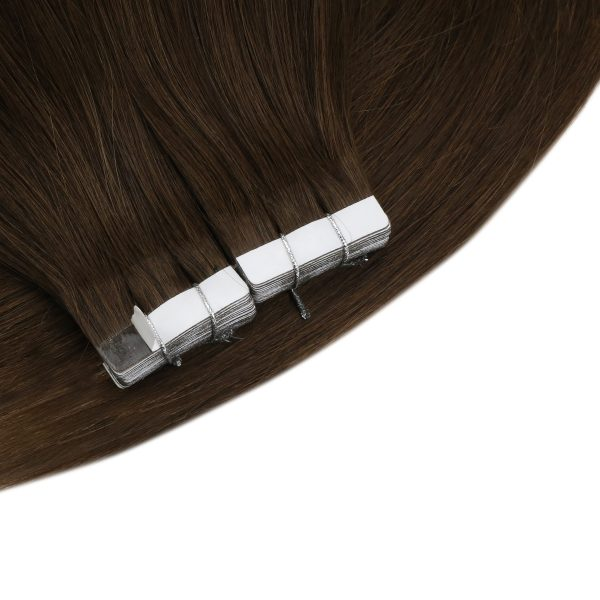 virgin tape in human hair solid color