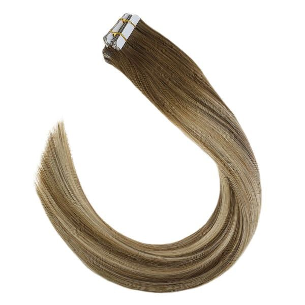 20 piece tape in hair extensions