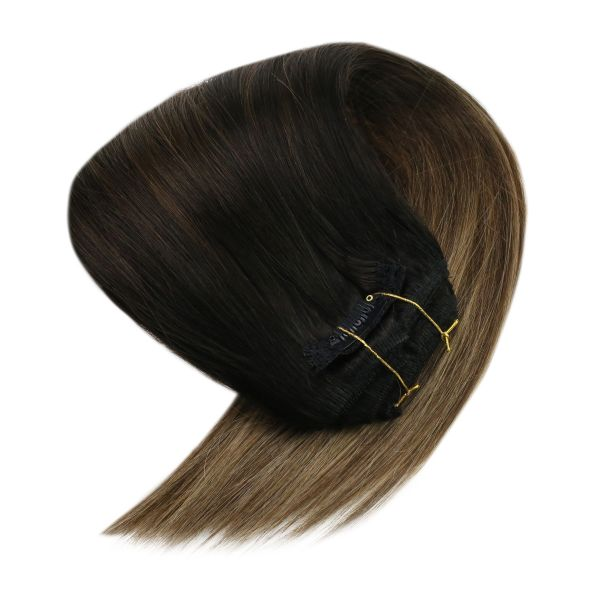 clip in blonde human hair extensions