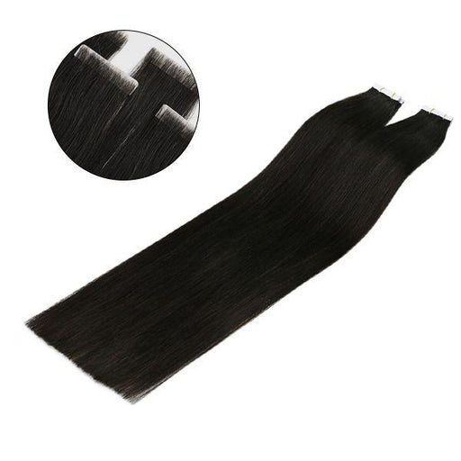 invisible seamless tape in human hair extensions