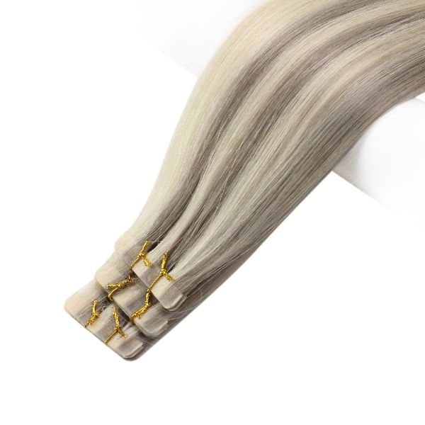 tape in human hair full cuticle virgin hair