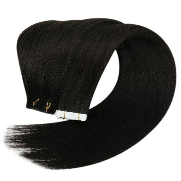virgin tape in human hair extensions