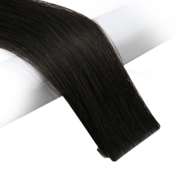 injection tape in human hair extensions