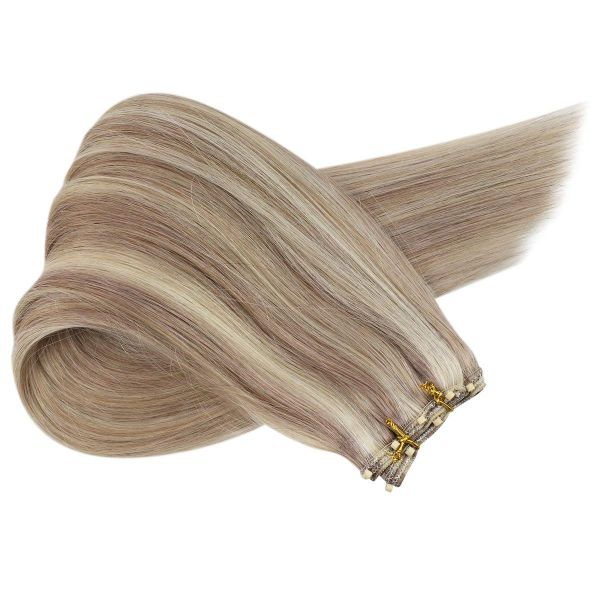weft bundle human hair extensions