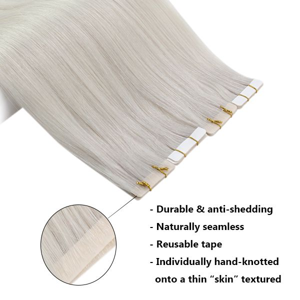 invisible hair tape extensions
