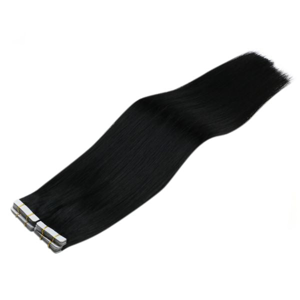 black hair tape in extensions