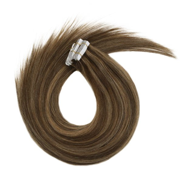 tape in hair extensions 100% human hair