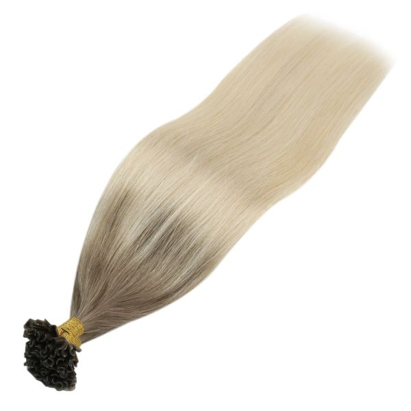 blonde u tip human hair extensions