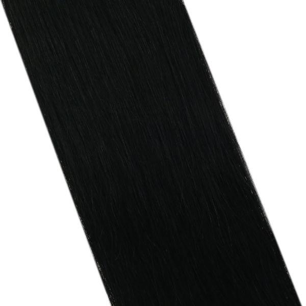 Virgin Hair Keratin U Tip Black Human Hair Extensions #1 25g/pack