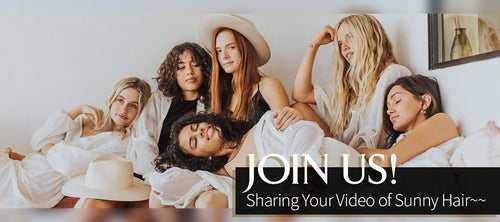 Share your video of Sunny human hair extensions