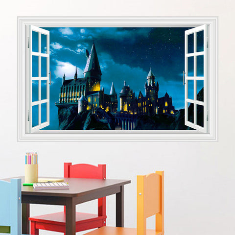 Harry Potter School Of Magic Wall Sticker