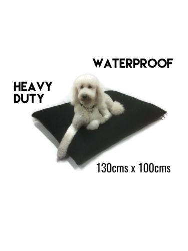 New Giant Breed Dog Bed Pet Bed Waterproof Black Heavy Duty Futon With Zip Huge