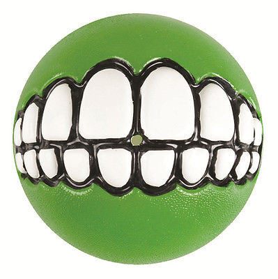 NEW ROGZ Grinz Ball, rubber ball, chewing ball, long lasting ball