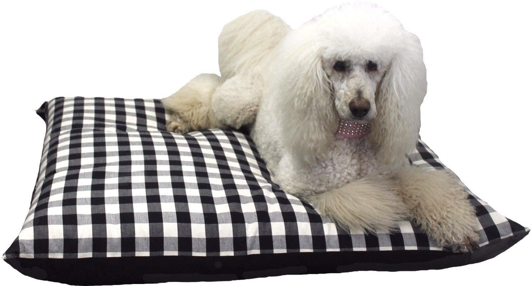 New Pet Bed Mattress Dog Bed Cushion Cotton Futon Black And White XL Labrador