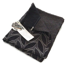 Stuff it cover only, dog bed, tough upholstery fabric, durable furnishing fabric, with zip leaves design
