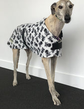Dog coat dog rug, double fleecy skull and crossbones pirate  large greyhound Great Dane  washable
