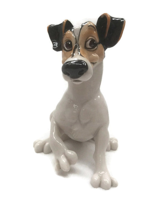 Jack Russell Figurine Statue ornament gift Doorstop, pets with personality