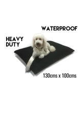 Waterproof, tough DIY dog bed cover. fill it yourself, kennel bed puppy mastiff Dane big large