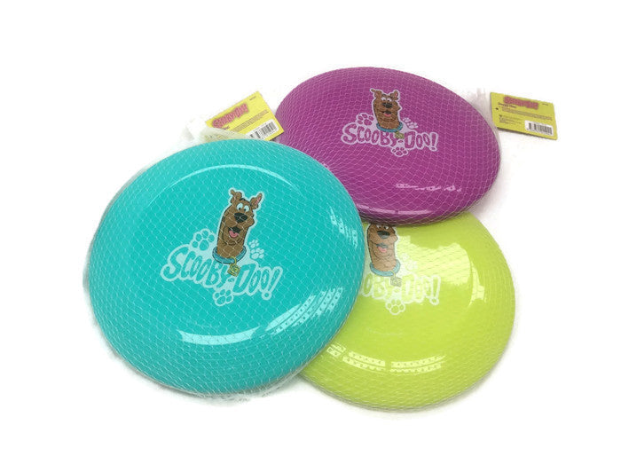 Frisbee Scooby Doo licensed plastic disc toy