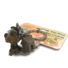 Yorky, Yorkshire terrier dog breed 3D keyring