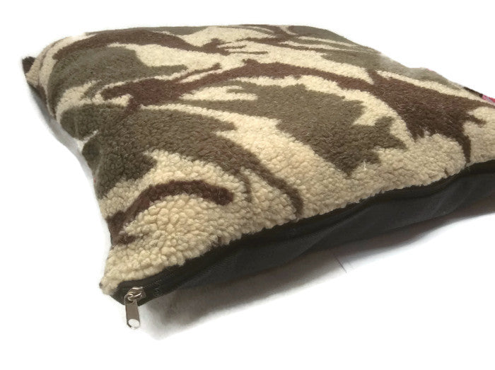 Small dog bed Pet pillow Sherpa washable Removable cover