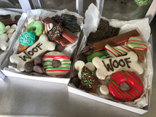 Christmas boxed carob and yoghurt treats gift pack sugar free with savoury treats