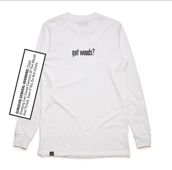 "GOT WOODS White ""Long Sleeve"""