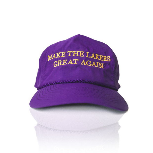 """MAKE THE LAKERS GREAT AGAIN"" Adjustable Hat"