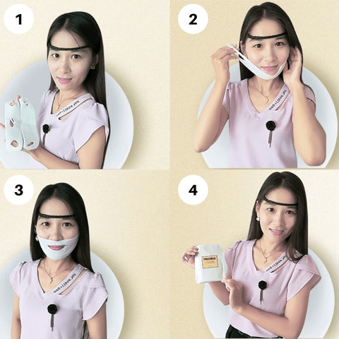 How to use Miracle V-Shaped Slimming Mask?